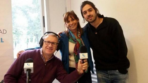 Elit,  junto a Aldo Omar Blanco y César Martín Pucheta