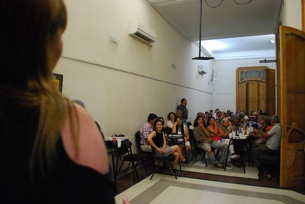 Monica Reviglio, secretaria de género, explica la convocatoria