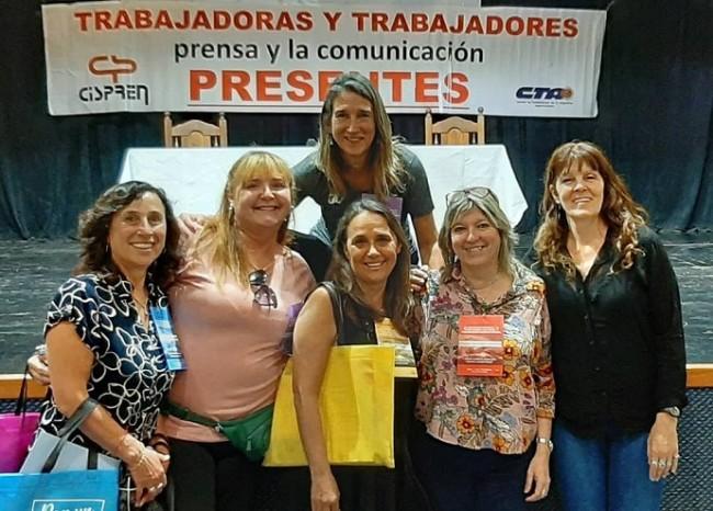 Periodistas mujeres congreso