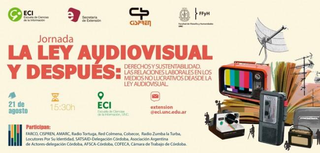 Jornada «Derechos y sustentabilidad. Las relaciones laborales en los medios no lucrativos desde la Ley Audiovisual»