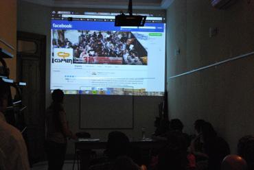 Se presentó el Área de Comunicación a los trabajadores del Cispren