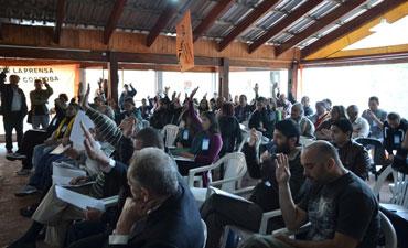 Se realizó el 31º Congreso de Trabajadores de Prensa