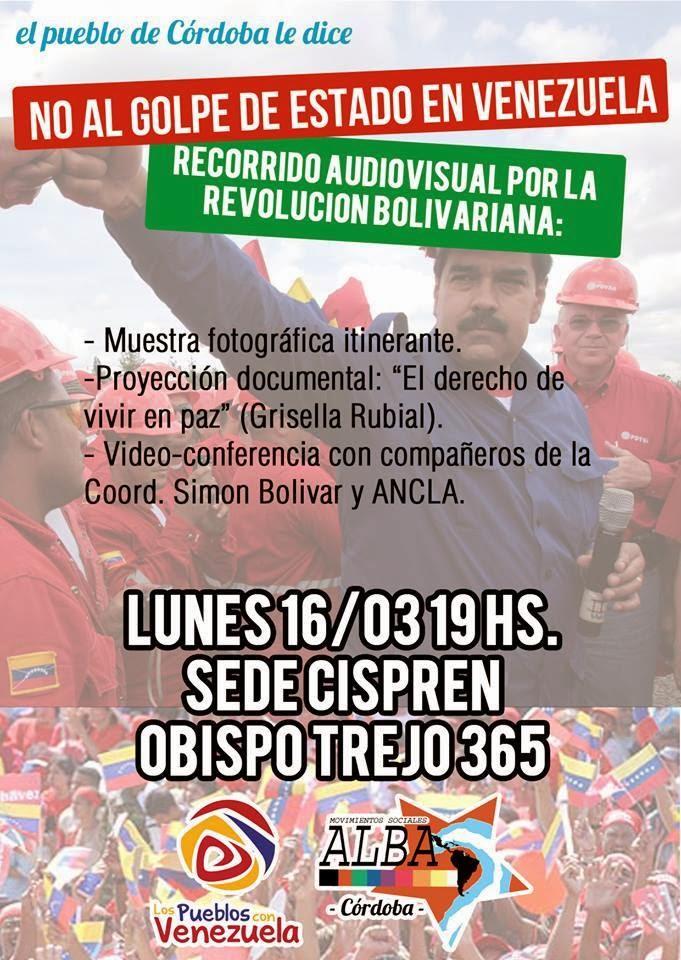 no al golpe venezuela