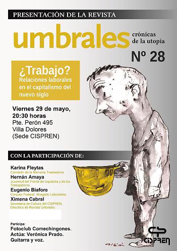La revista Umbrales se presentará el viernes en Villa Dolores