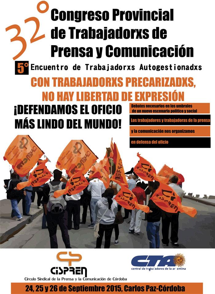 Hacia el 32° Congreso de Trabajadores de la Prensa y la Comunicación