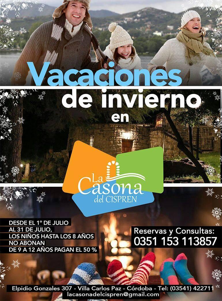 VACACIONES DE INVIERNO EN LA CASONA