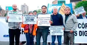 """Valduvino: """"No vamos a firmar salarios de miseria como ofrece la patronal"""" 20 de octubre, 2016"""