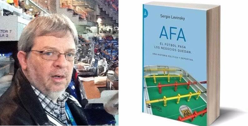 Presentación del libro AFA: EL FÚTBOL PASA, LOS NEGOCIOS QUEDAN
