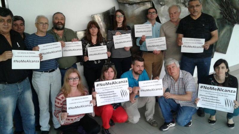 PRENSARED #NoNosAlcanza#QueSeSepa | La paritaria de prensa se recalienta con asambleas en los medios