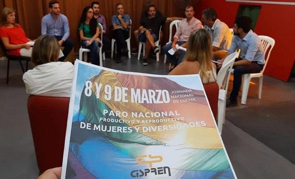 El Cispren presentó el protocolo de género en Telefé Córdoba y La Voz del Interior
