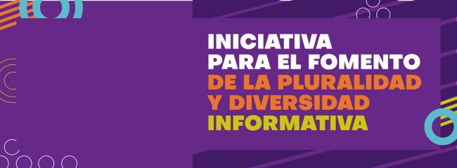 Presentación del proyecto de ley para fomentar el pluralismo y la diversidad informativa