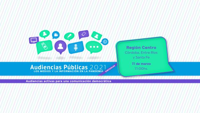 El Cispren participará de la Audiencia Pública de la Defensoría del Público de la Nación
