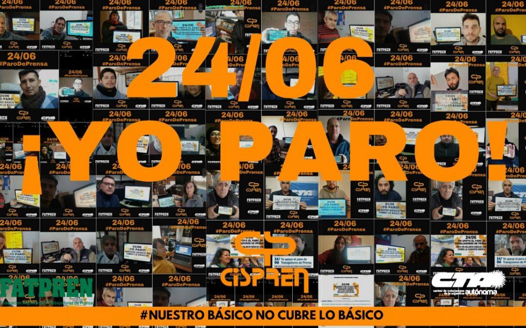 LXS TRABAJADORES DE PRENSA ESTAMOS DE PARO