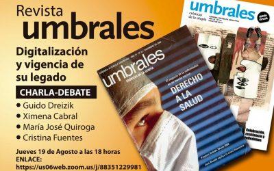 Presentación de Revista Umbrales: «Digitalización y vigencia de su legado»